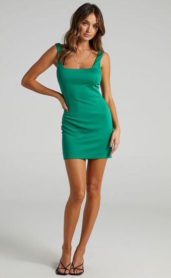 A Whole Lot Of Love Dress in Jade