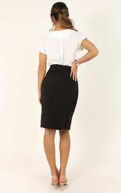 Carefully Put Skirt in black - 20 (XXXXL), Black, hi-res image number null