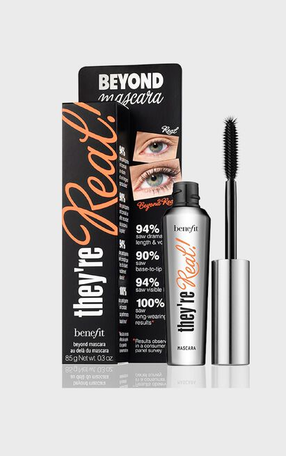 Benefit Cosmetics - They're Real! Black Mascara, Black, hi-res image number null
