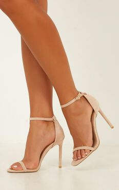 Billini - Andi Heels In Blush Micro