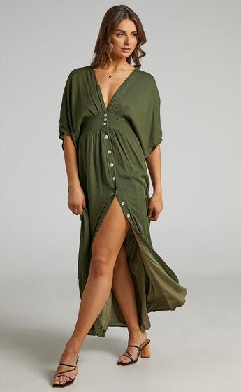 Sitting Pretty Dress in Olive