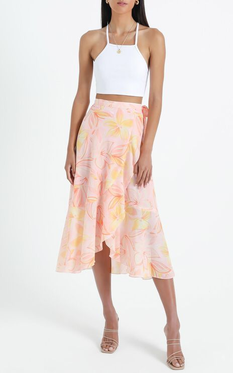 Add To The Mix Skirt in Summer Floral