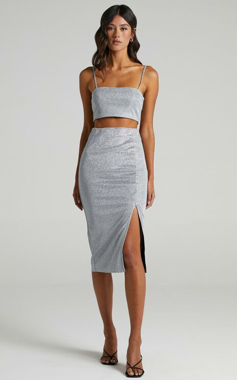 Luisa Skirt in Silver
