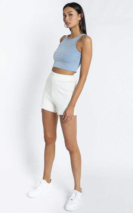 Delmara Shorts in White