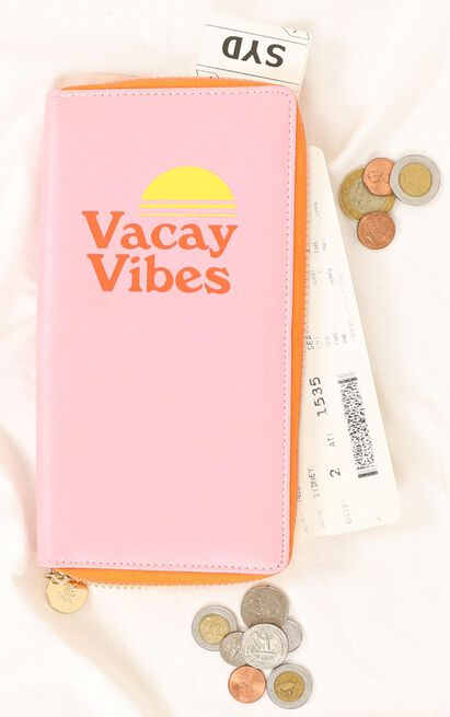 YES Studio - Travel Wallet Vacay Vibes , , hi-res image number null