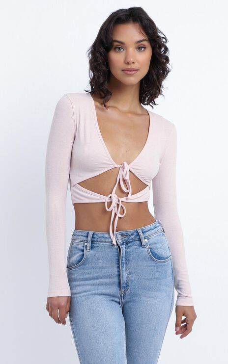 Munro Top in Pink