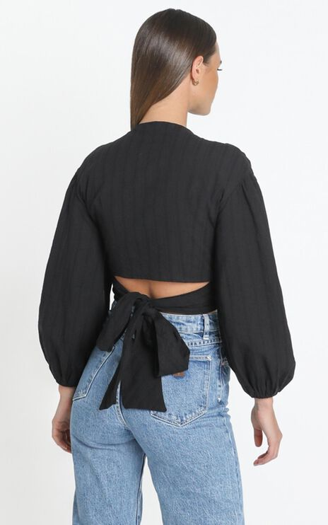 Brynn Top in Black