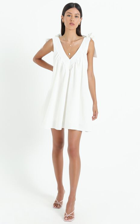 Rosyth Dress in White