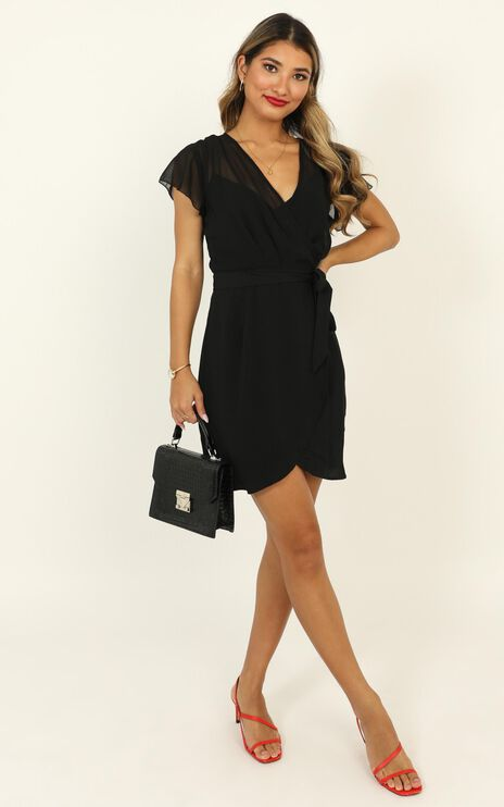 Kicking Goals Dress In Black
