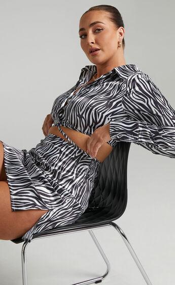 Sineone Skirt in Zebra