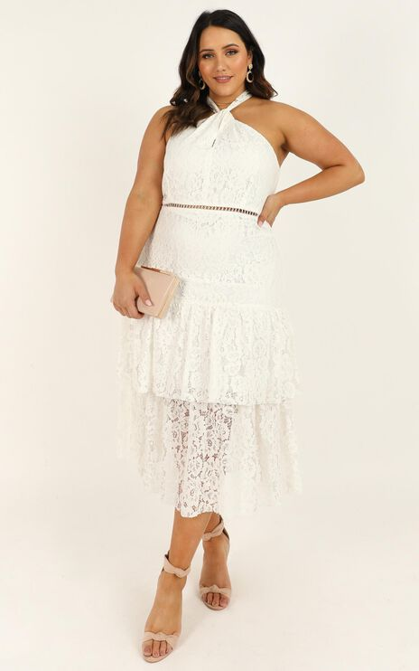 Whats The Tea Dress In White Lace