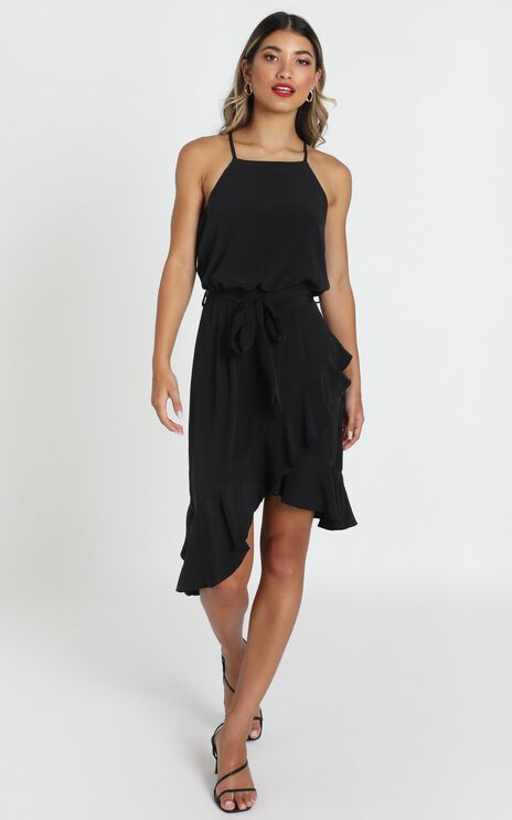 Kiata Dress in Black