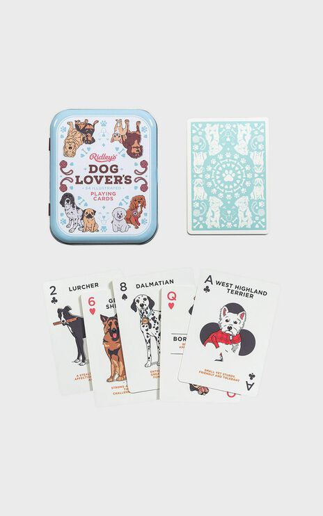 Dog Lover Playing Cards 1st Edition