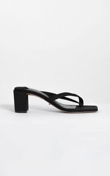 Tony Bianco - Serrah Heels In Black Lycra