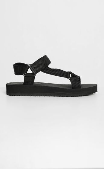 Verali - Angel Sandals in Black
