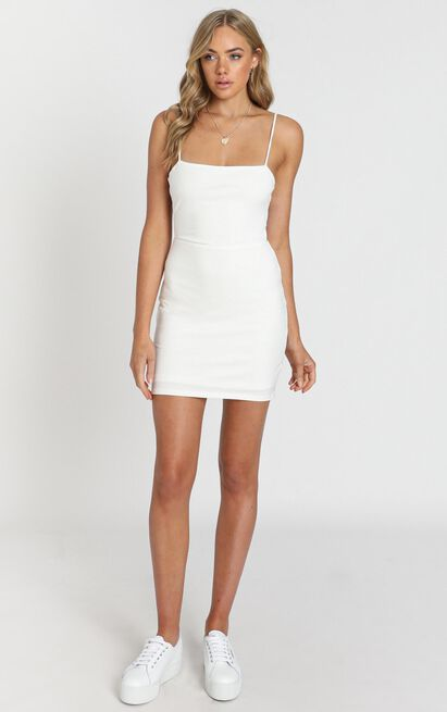 Costa Rica Dress in white - 12 (L), White, hi-res image number null