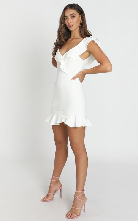 Alessandra Dress in White