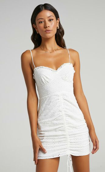 Khloe Dress in White