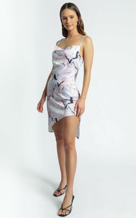 Twiin - Aphrodite Slip Dress in Multi
