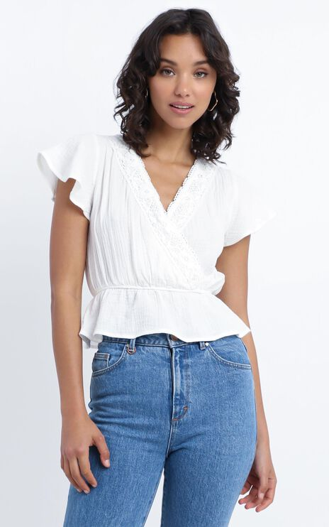 Walter Top in White