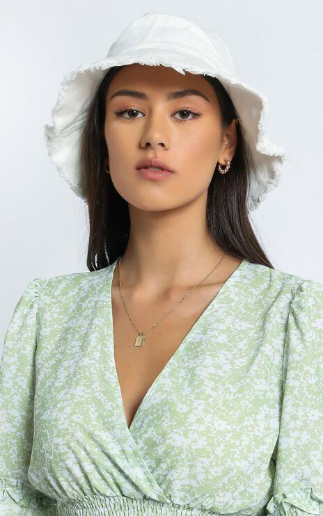 Grete Hat in White