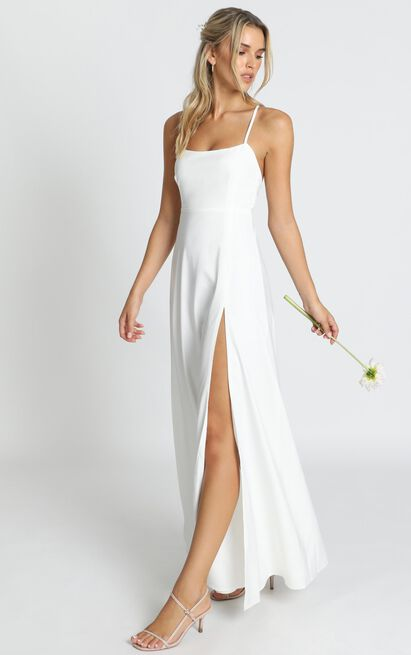 Will It Be Us Dress in white - 14 (XL), White, hi-res image number null