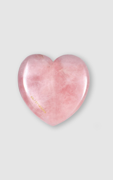 Salt By Hendrix - Rose Quartz Love Gua Sha in Rose