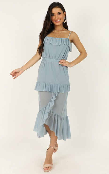 A Little Love Dress In Light Blue