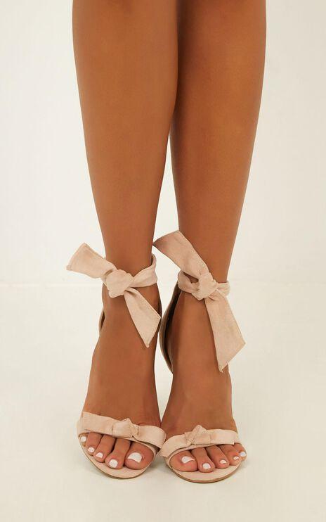 Billini - Laconia Heels In Blush Micro