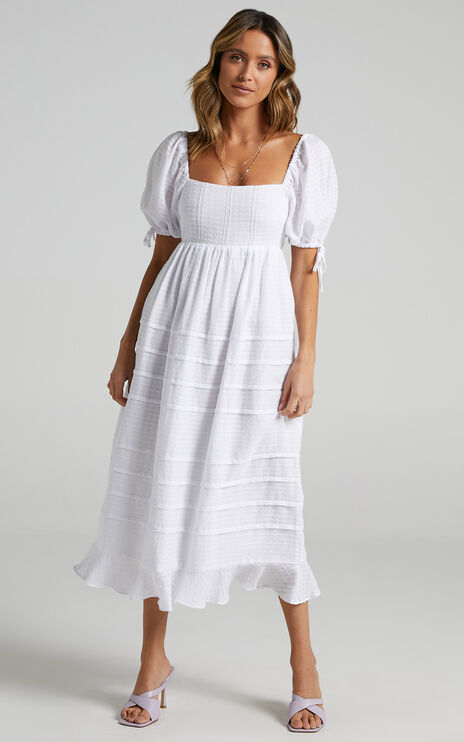 Electra Dress in White