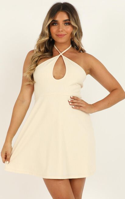 Mostly Together Dress in cream - 20 (XXXXL), Cream, hi-res image number null