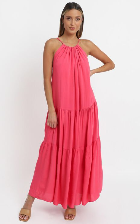 Pyper Dress in Hot Pink