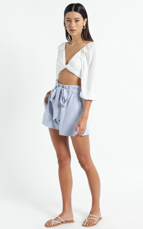All Rounder Shorts in Powder Blue