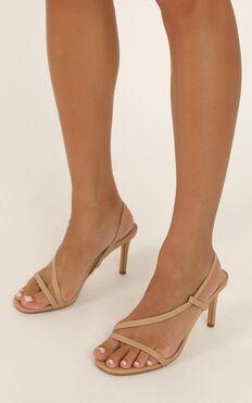 Billini - Jerez Heels In Dark Nude