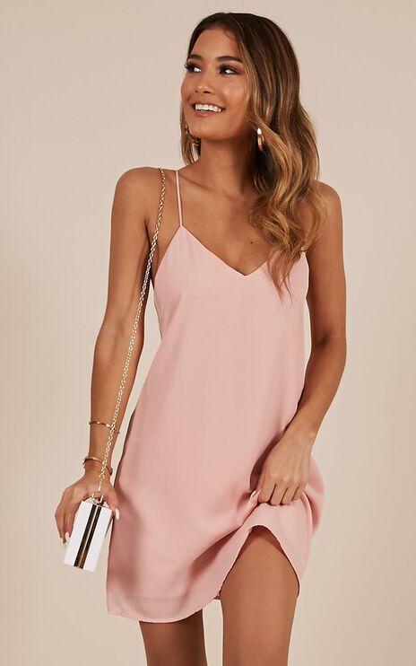 Like Soda Dress In Blush