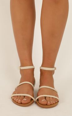 Billini - Uriel sandals in stone nubuck