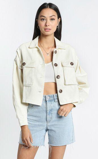 Maygan Jacket in Cream
