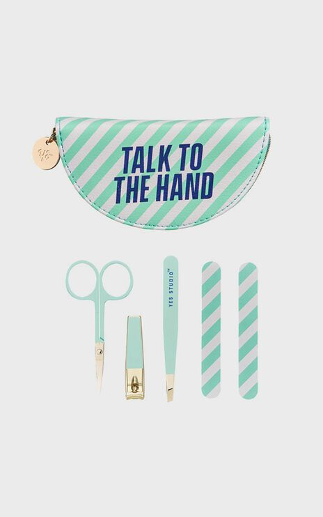 Yes Studio - Manicure Set - Talk To The Hand