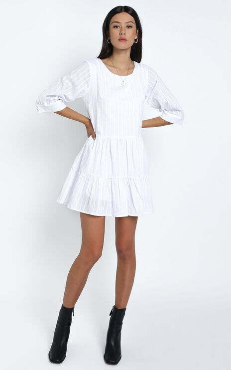 Cade Dress in White