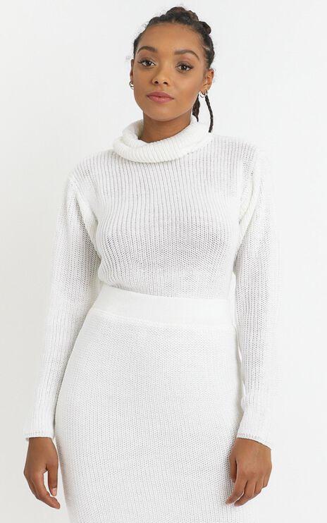 Edwynna Jumper in White