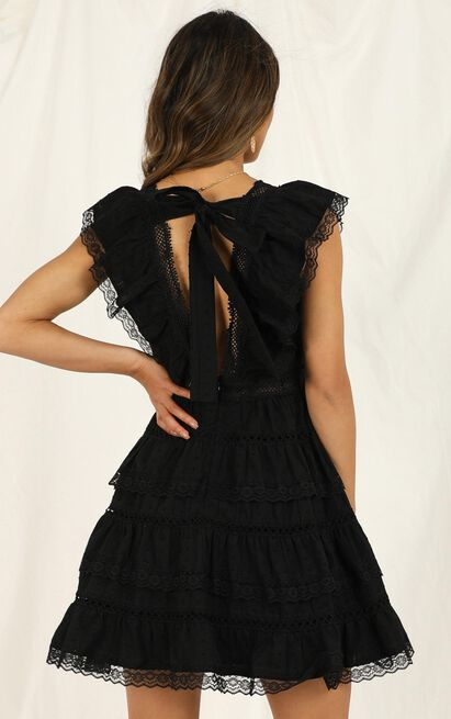 Dream For Days dress in black lace - 16 (XXL), Black, hi-res image number null