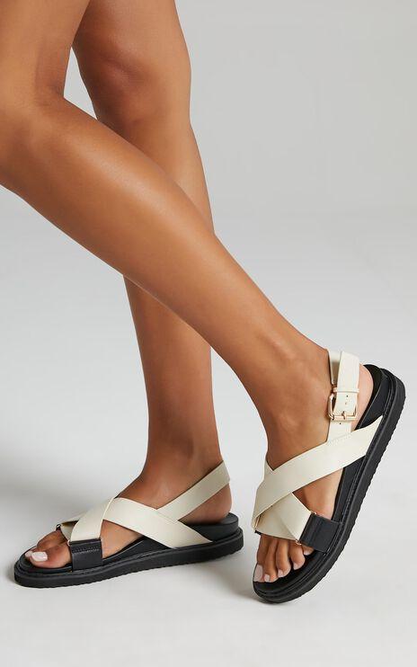 Billini - Zendaya Sandals in Bone