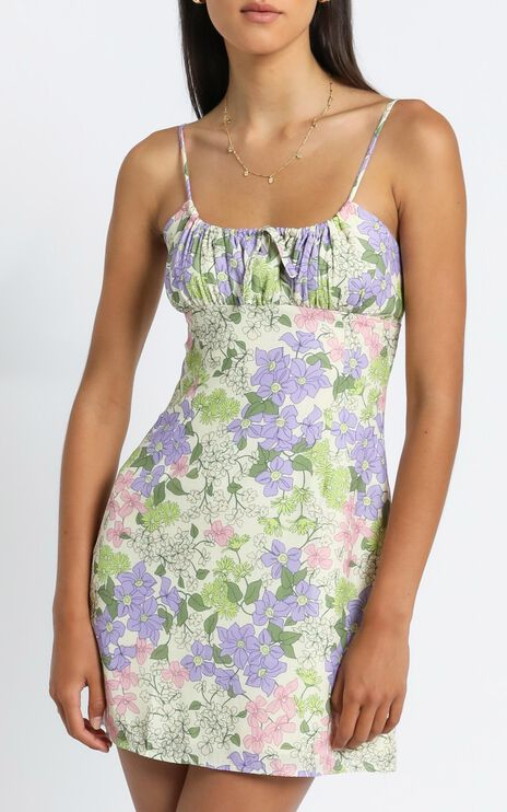 Sunday Session Dress in Garden Floral