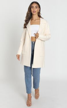 True Meanings Cardigan In Cream