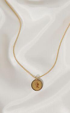 Peta And Jain - Sarai Necklace In Gold
