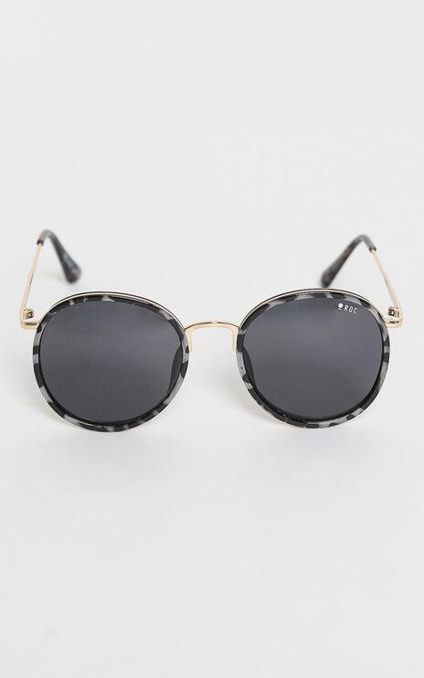 Roc - Round Up Sunglasses in Grey Tortoiseshell