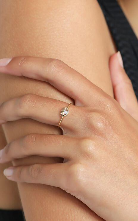 Jolie & Deen - Kirsty Ring in Gold