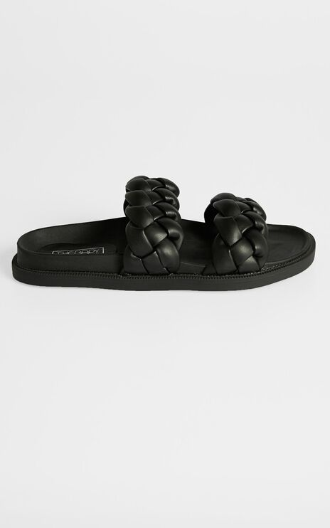 Therapy - Elle Sandals in Black