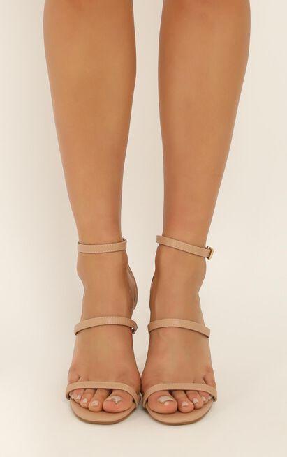 Billini - Joie Heels in dark nude - 10, Beige, hi-res image number null