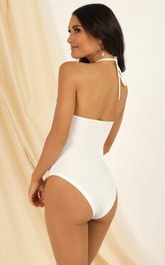 Last Song Bodysuit In White